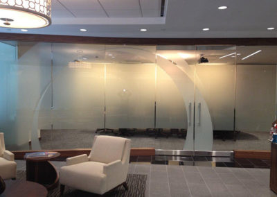 Houston Oil Company Uses InfiniteOptiks Decorative Glass Film
