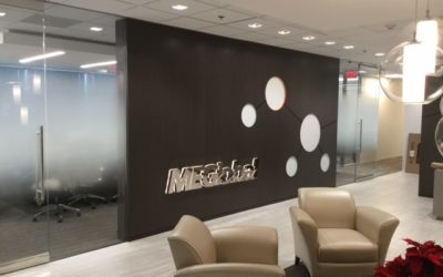 Corporate Sales Dresses Up Sales Office with Decorative Glass Film