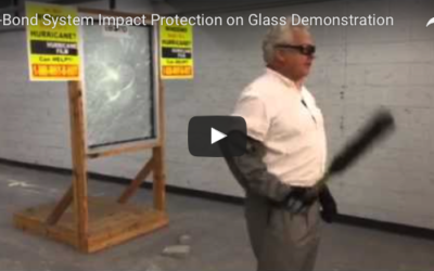 C-Bond System Impact Protection on Glass Demonstration