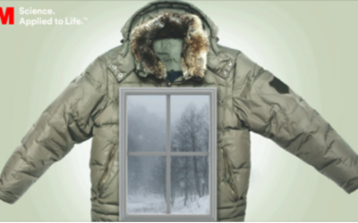 Like a Winter Jacket for Home Windows – 3M Thinsulate Window Film